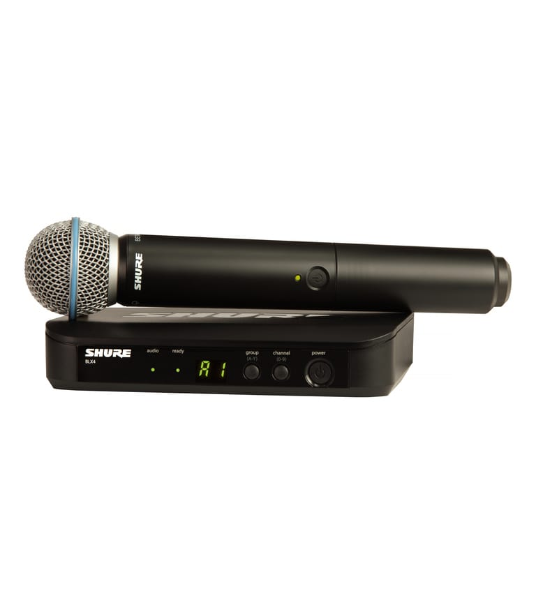 Shure - BLX24UK B58X K14 Wireless System - Melody House Musical Instruments