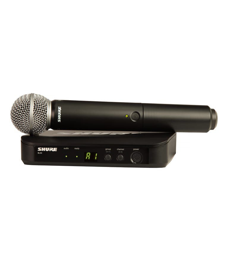Shure - BLX24UK SM58X K14 - Melody House Musical Instruments