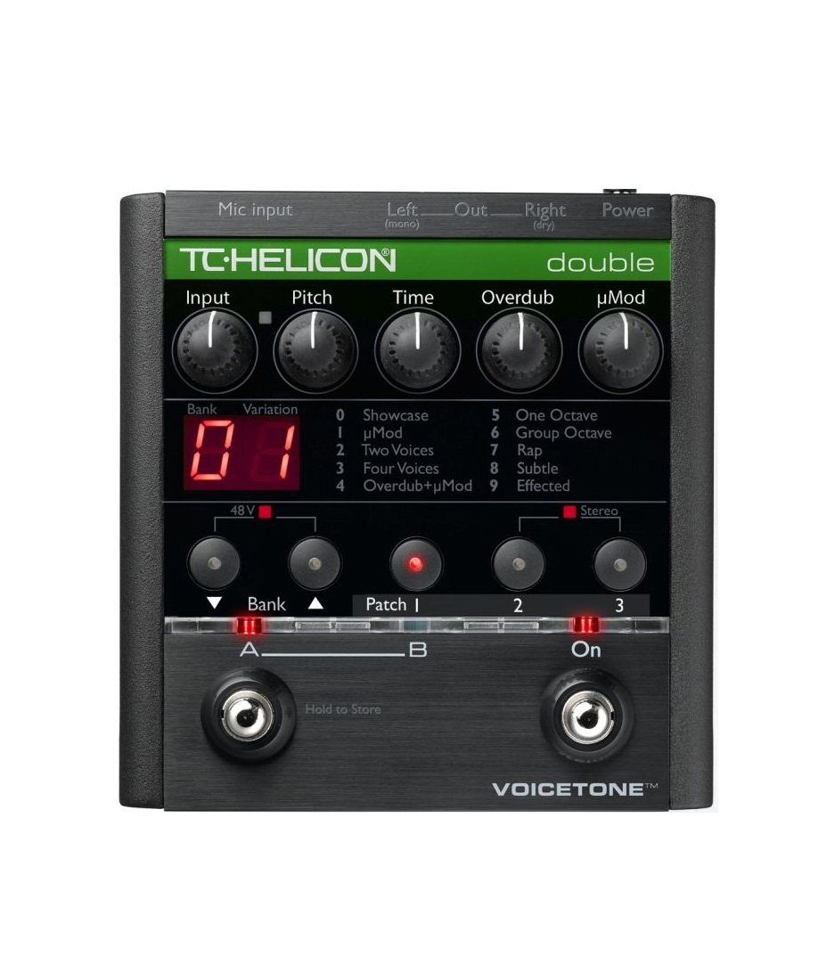 Buy tc electronics TC Helicon Voice Tone Double Melody House