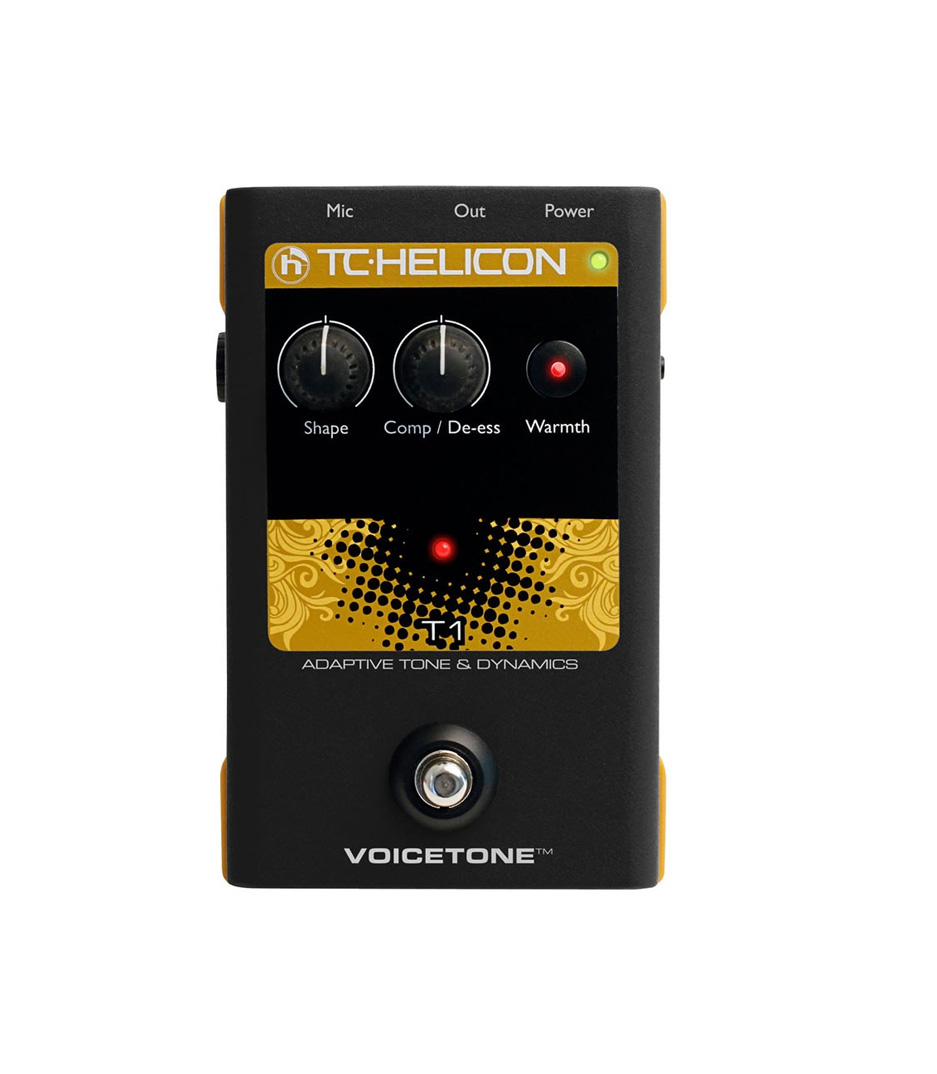 buy tcelectronics tc helicon vocal tone and dynamics effect pedal