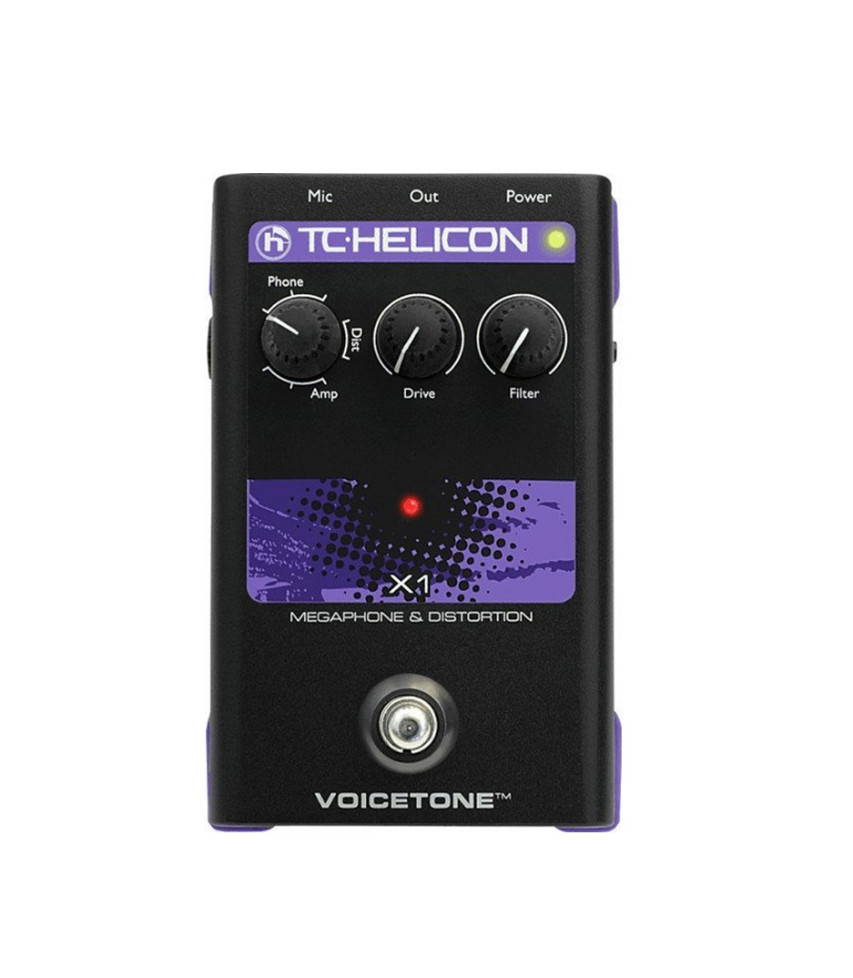 buy tcelectronics tc helicon voicetone x1