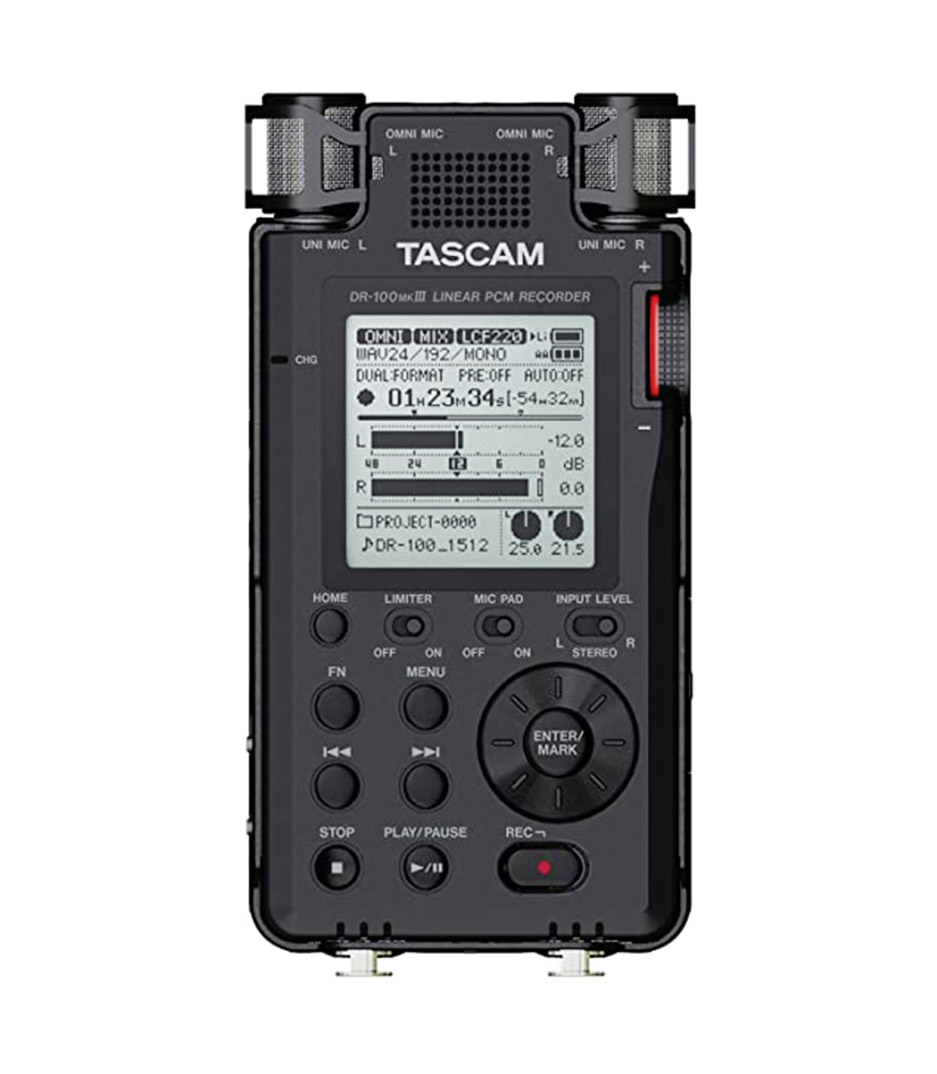 buy tascam dr 100mk3 portable digital recorder