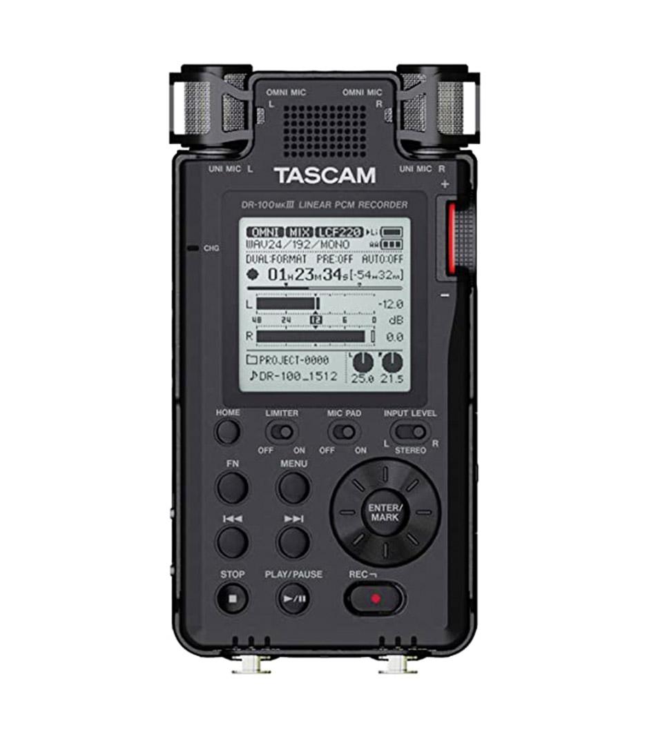 Tascam - DR 100MK3 Portable Digital Recorder