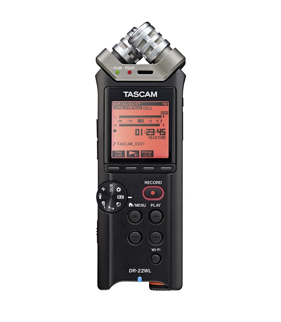 Tascam - Portable Digital Recorder - Melody House Musical Instruments