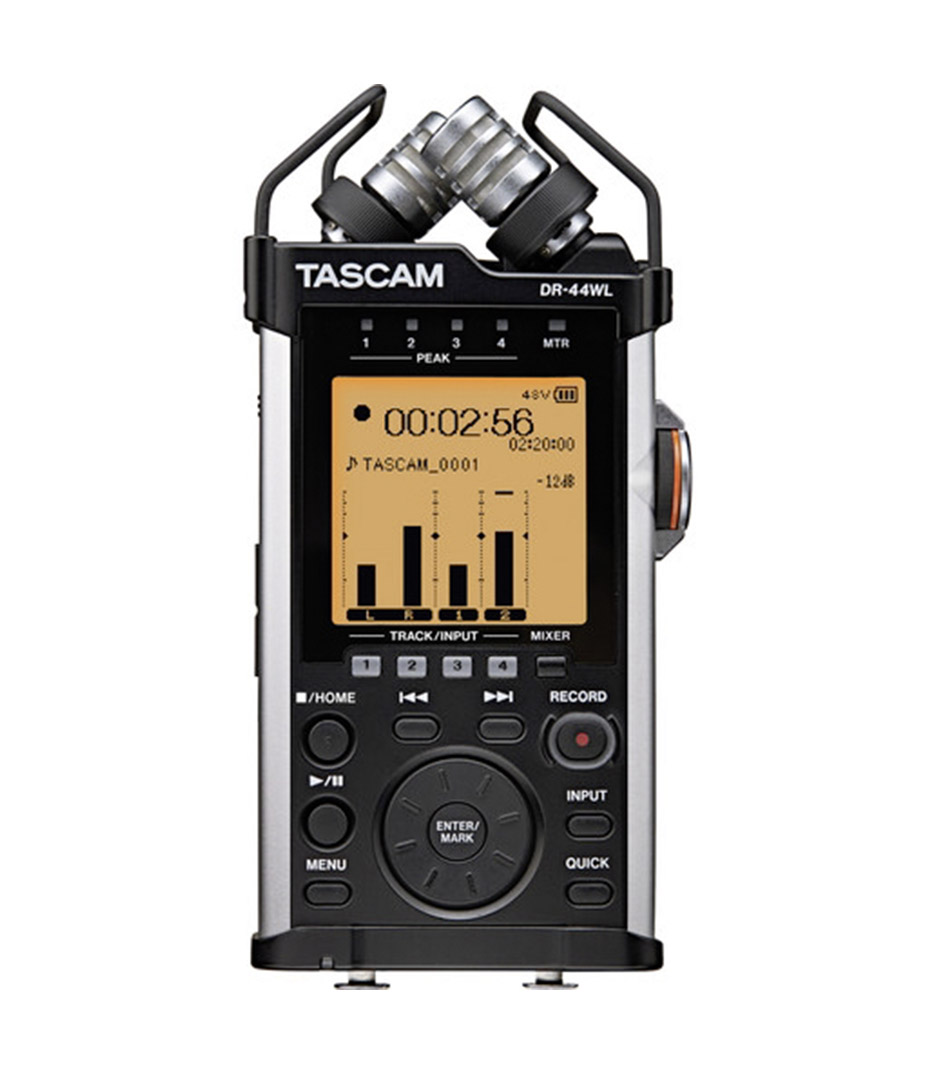 buy tascam dr 44wl portable digital recorder