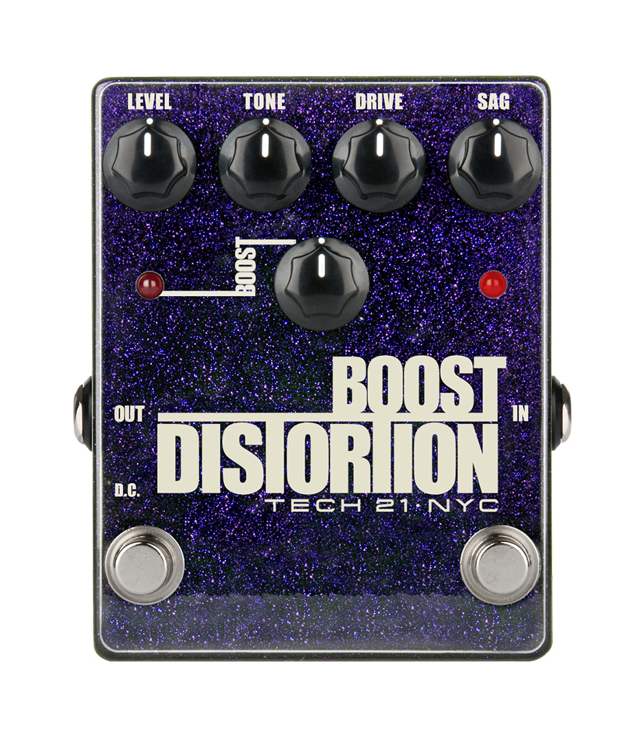 Tech21 - BSTM D Boost Distortion Metallic Analog Distortio - Melody House Musical Instruments