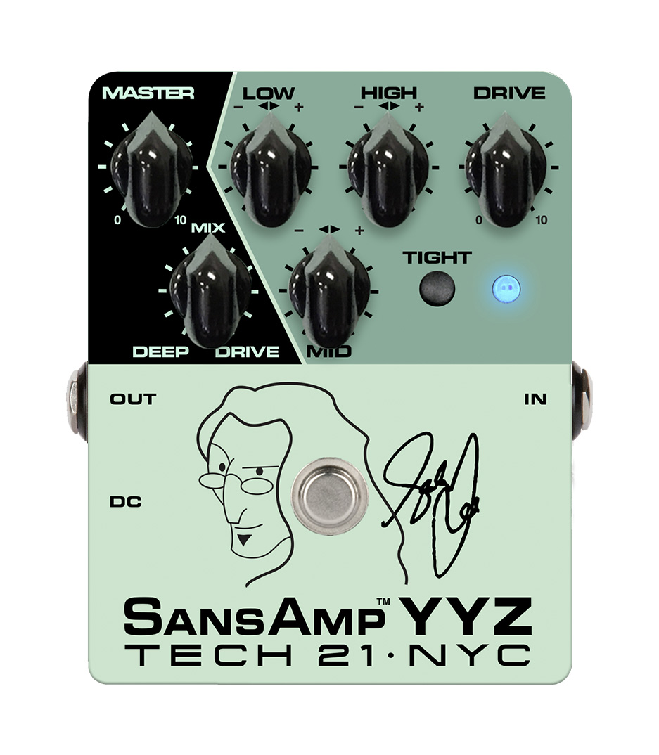 buy tech21 yyz geddy lee signature sansamp yyz bass pre amp