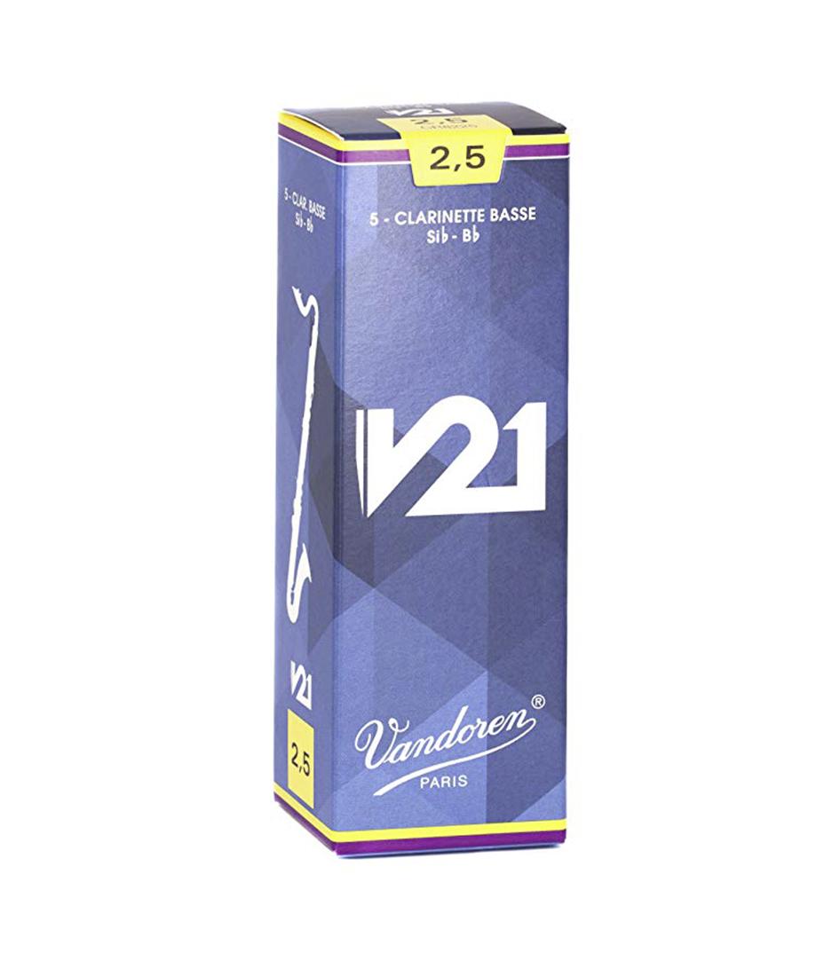 buy vandoren cr8225 box of 5 bass clar v21 reeds nø 2 5