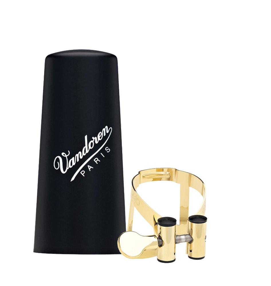 Vandoren - LC51GP Bb clar gold plated M O lig plastic cap