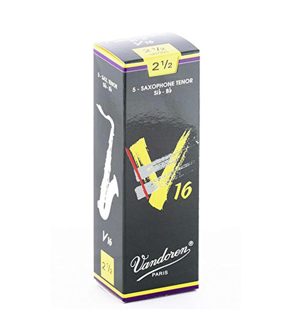 buy vandoren sr7225 box of 5 v16 tenor sax reeds n 2 5