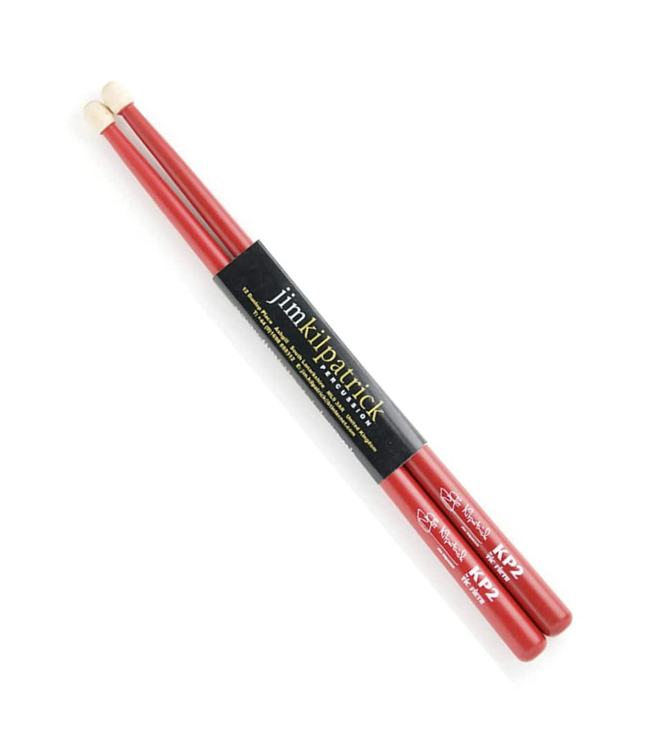 buy vicfirth jim kilpatrick kp2 red finish snare stick