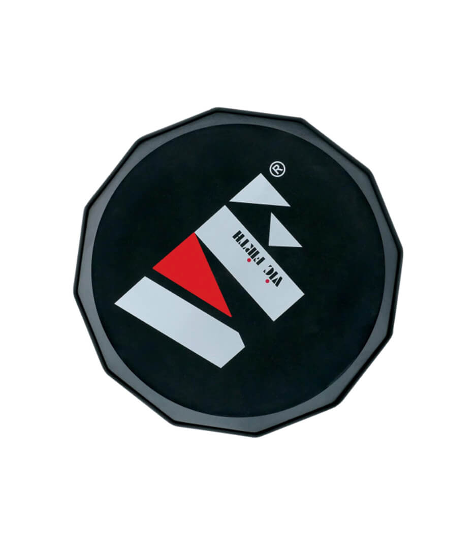 buy vicfirth vxppvf12 vf logo practice pad 12inch
