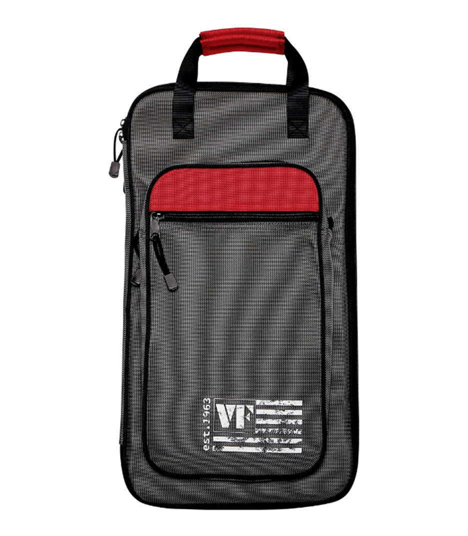 Vicfirth - SBAG4 Stick Bag Grey w Red Trim
