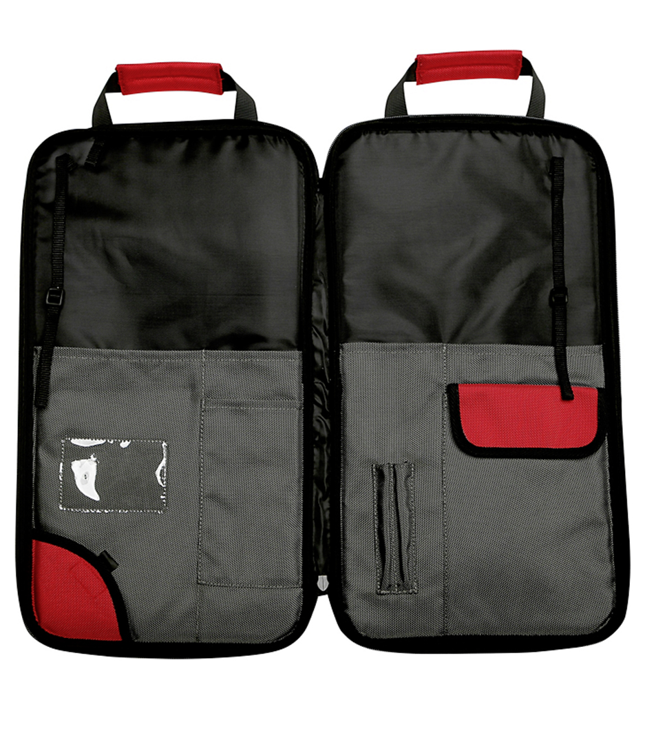Vicfirth - SBAG4 Stick Bag Grey w Red Trim - Melody House
