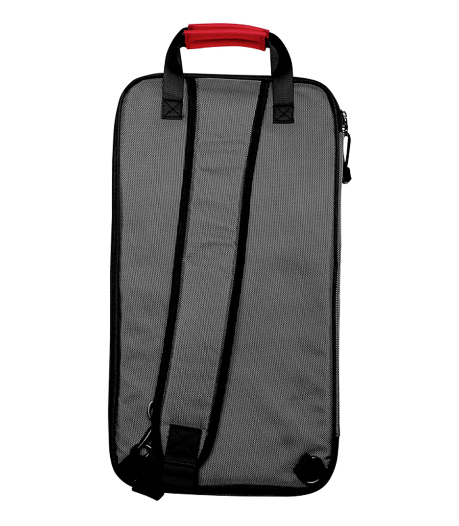 Melody House Musical Instruments Store - SBAG4 Stick Bag Grey w Red Trim