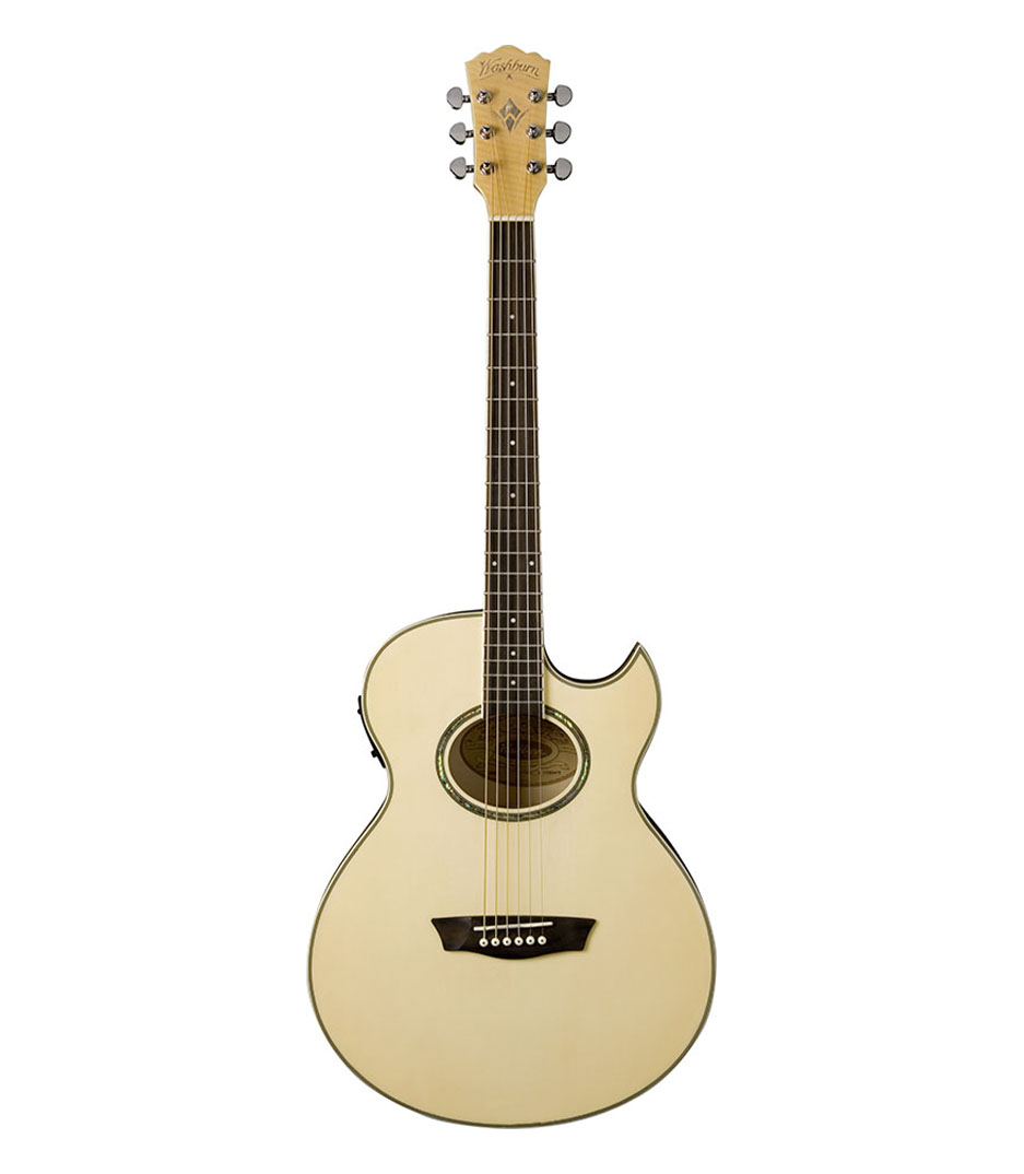 buy washburn ea20 florentine acoustic electric