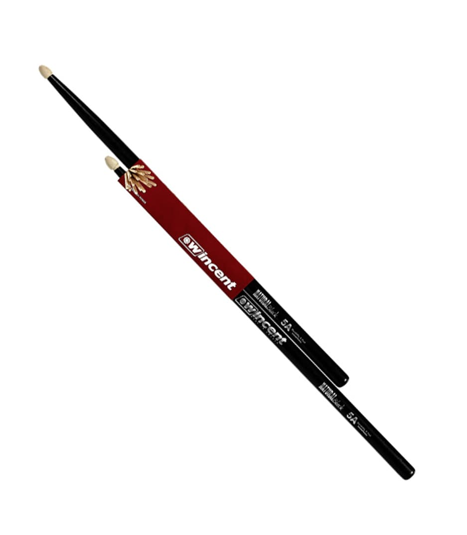 buy wincent w 5acb 5acw hickory black finish drum sticks