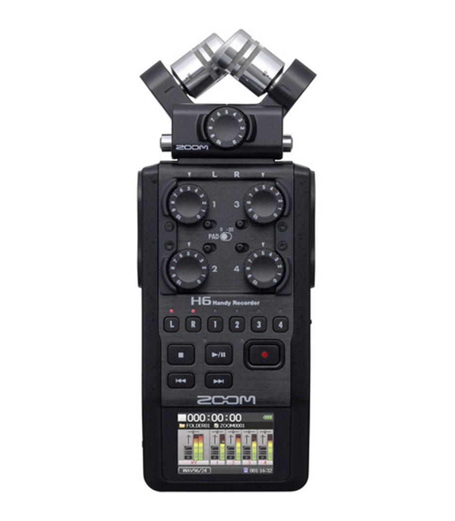 buy zoom h6 zoom handy recorder