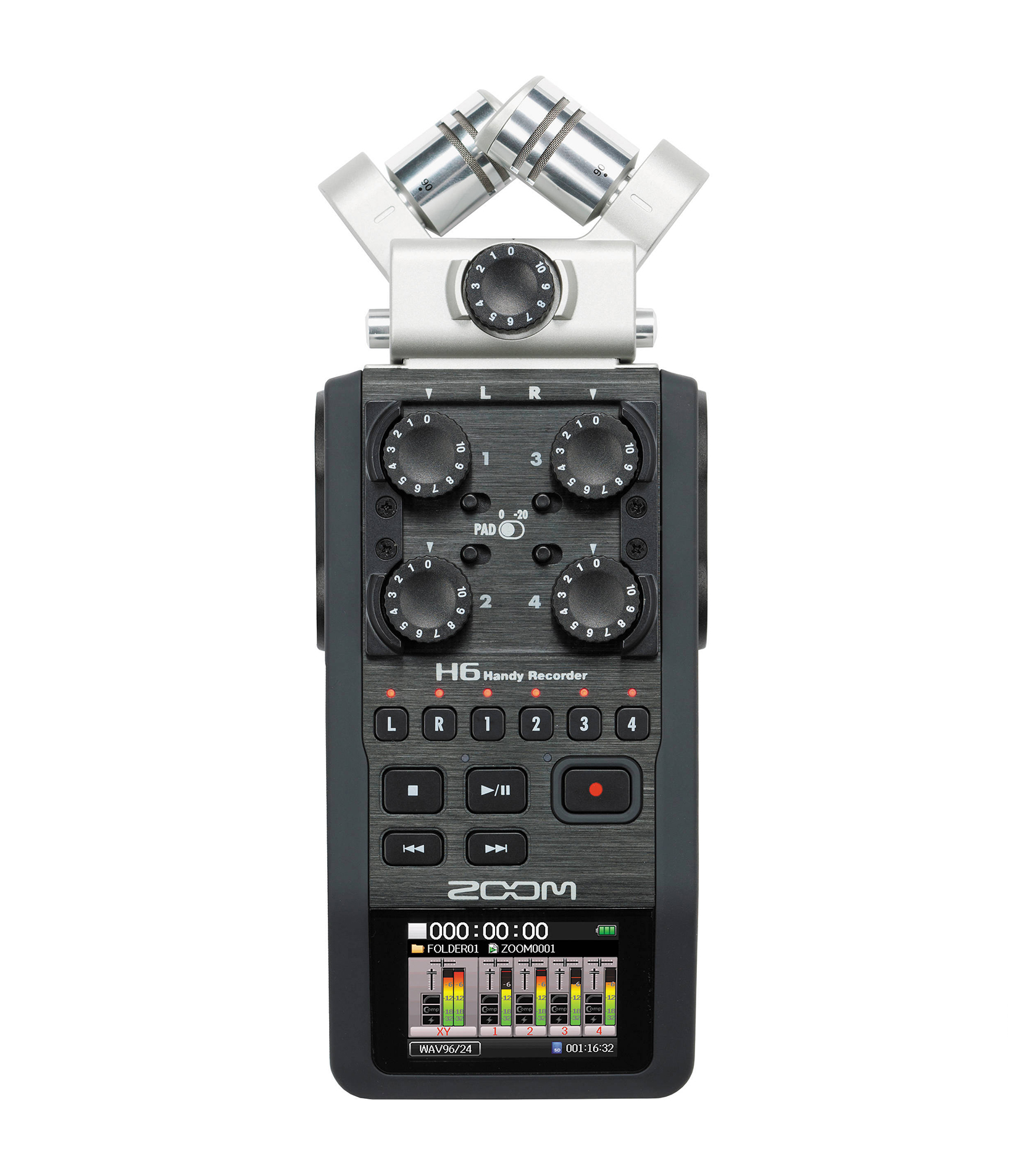 Buy Zoom H6 Zoom Handy Recorder Melody House